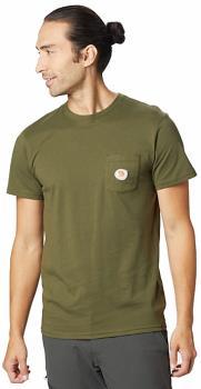 Mountain Hardwear Peaks'n Pints Logo T-Shirt, S Dark Army