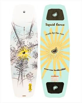 Liquid Force Peak Wood Core Park Track Wakeboard, 149 Orange 2022