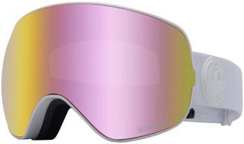 Dragon X2s LumaLens Pink Ion Snowboard/Ski Goggles, M White Out