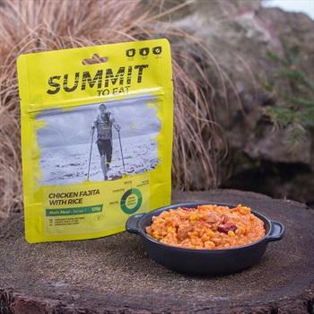 Summit To Eat Chicken Fajita & Rice Camping & Trekking Food, Regular