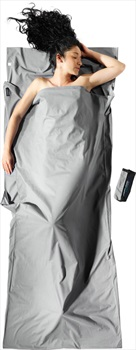 Cocoon TravelSheet Insect Shield Cotton Sleeping Bag Liner, Safari