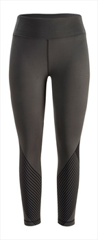 Black Diamond Womens Equinox Capris Stretch Leggings, L Slate