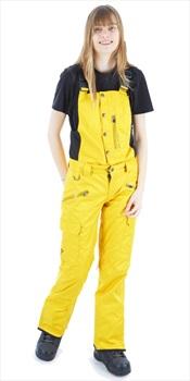 Saga Rogue Women's Bib Pants, L Curry