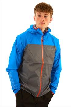 OMM Halo Men's Waterproof Shell Jacket, S Blue/Grey