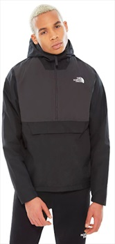 The North Face Fanorak Men's Waterproof Anorak Jacket, M TNF Black