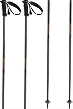 Head Joy Women's Ski Poles, 105cm Black/Champagne-Gold
