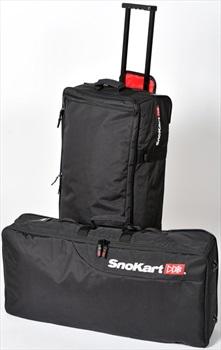 SnoKart Kargo 100 Split Wheelie Roller Bag, 100L Black