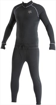Airblaster Hoodless Ninja Suit Thermal Base Layer, L Black