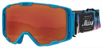 Melon Parker Red Chrome Snowboard/Ski Goggle, M/L Bubblegum Blue
