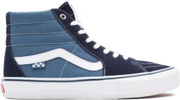 Vans Skate Sk8-Hi Trainers/Shoes, UK 9 Navy/White