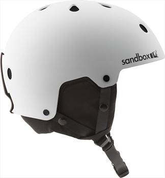 Sandbox Legend Snow Ski/Snowboard Helmet, L Matte White
