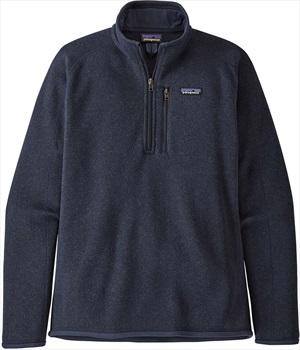 Patagonia Adult Unisex Better Sweater 1/4 Zip Pullover Fleece Jacket, S New Navy
