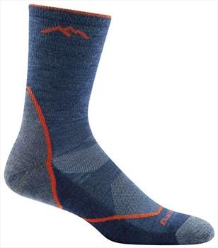 Darn Tough Adult Unisex Light Hiker Micro Crew Hiking Socks, Xl Denim