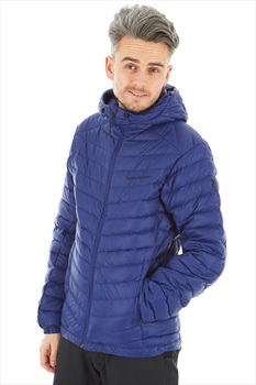 Peak Performance Frost Down Hood Insulated Padded Jacket L Blueprint