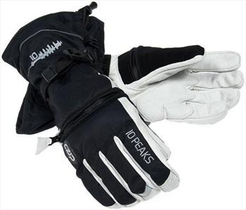 10 Peaks Mount Little Ski/Snowboard Gloves M Black/White