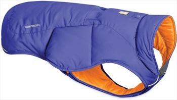 Ruffwear Quinzee Jacket Insulated Dog Coat, XS Huckleberry Blue