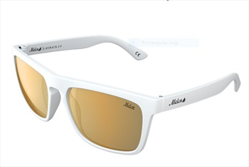 Melon Layback 2.0 Gold Chrome Polarized Sunglasses, Vice