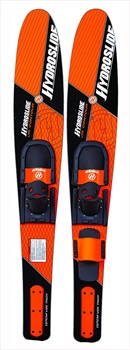 """O'Brien Hydroslide Contour Combo Waterskis, Jr. 54""""/ 137cm Orange 2021"""