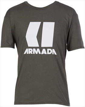 Armada Adult Unisex Icon T-Shirt, S Forest Green