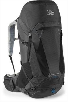 Lowe Alpine Manaslu 65:80 M/L Trekking Backpack, 80L Black