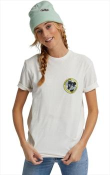 Analog Adult Unisex Halifax Short Sleeved T-Shirt, L Stout White