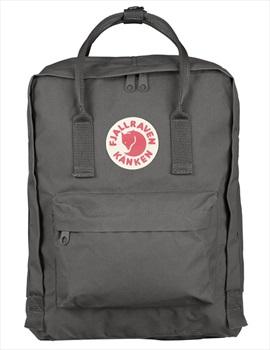 Fjallraven Kanken Backpack, 16L Super Grey