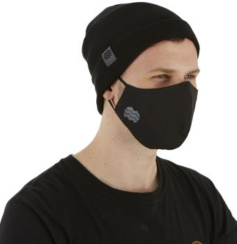 Hyka Essentials Protective Reusable Face Mask, One Size Black