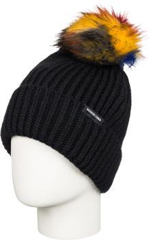DC Splendid Beanie Women's Ski/Snowboard Bobble Hat, Black