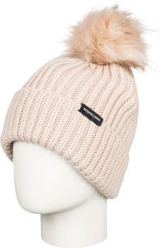 DC Splendid Beanie Women's Ski/Snowboard Bobble Hat, Grey Morn