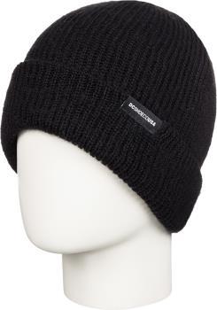 DC Hazy Women's Ski/Snowboard Cuffed Beanie Hat, Black