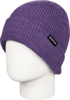 DC Hazy Women's Ski/Snowboard Cuffed Beanie Hat, Grape