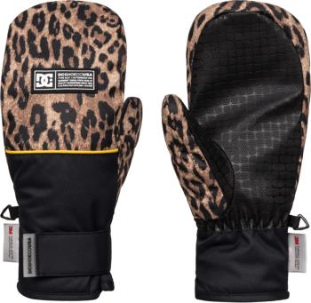 DC Franchise Women's Ski/Snowboard Mittens, S Leopard Fade