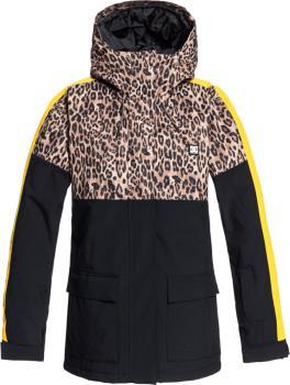 DC Cruiser Women's Ski/Snowboard Insulated Jacket, S Leopard Fade
