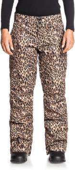 DC Nonchalant Insulated Women's Ski/Snowboard Pants, M Leopard Fade
