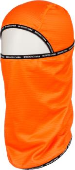 DC Felony Balaclava Ski/Snowboard Facemask, Shocking Orange
