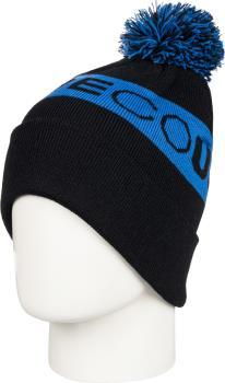 DC Chester Ski/Snowboard Beanie Bobble Hat, Iolite Blue