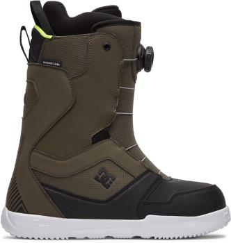 DC Scout Boa Snowboard Boots, UK 9 Green 2021
