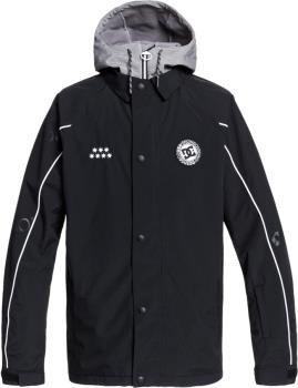 DC Dcsc Coaches Ski/Snowboard Insulated Jacket, XL Black