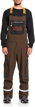 DC Revival Ski/Snowboard Shell Bib Pants, M Wren