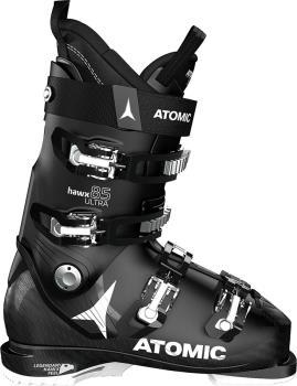 Atomic Hawx Ultra 85W Women's Ski Boots, 24/24.5 Black/White 2021