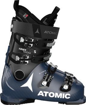 Atomic Hawx Magna 110 S Men's Ski Boots, 28/28.5 Black/Dark Blue 2021