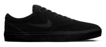 Nike SB Charge Suede Solarsoft Trainers Skate Shoes UK 10 Black
