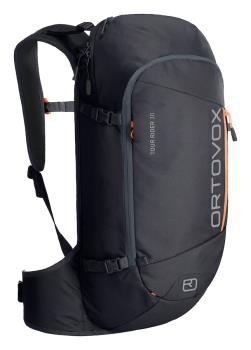 Ortovox Tour Rider 30 Ski/Snowboard Backpack, 30L Black Raven