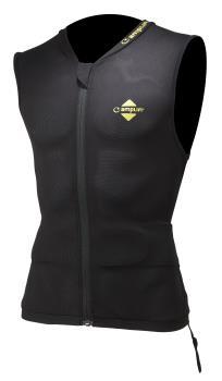 Amplifi Reactor Ski/Snowboard Protection Impact Vest, L/XL Black
