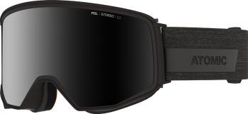 Atomic Four Q Stereo Black Stereo Snowboard/Ski Goggles, L Black