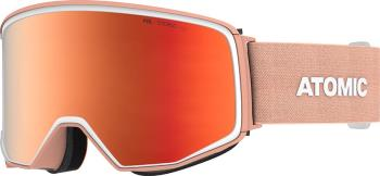 Atomic Four Q Stereo Red Stereo Snowboard/Ski Goggles, L Peach
