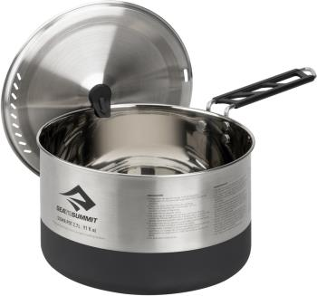 Sea to Summit Sigma Pot Stainless Steel Camping Cookware, 2.7L