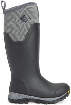 Muck Boot Arctic Ice AG Tall Women's Wellies, UK 9 Black/Geometric