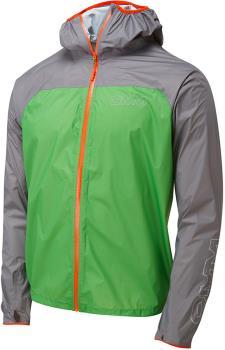 OMM Halo Men's Waterproof Shell Jacket, S Green/Grey