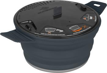 Sea to Summit X-Pot Folding Camping Cookware 2.8L Charcoal